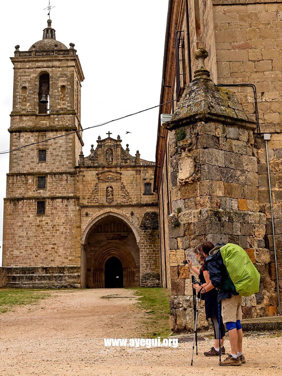 Km. 100. Camino de Santiago. Ayegui Turismo