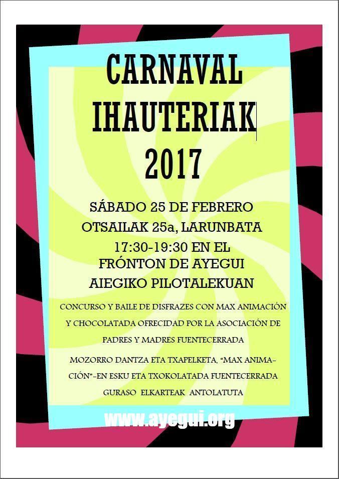 Carnaval / Ihauteriak 2017