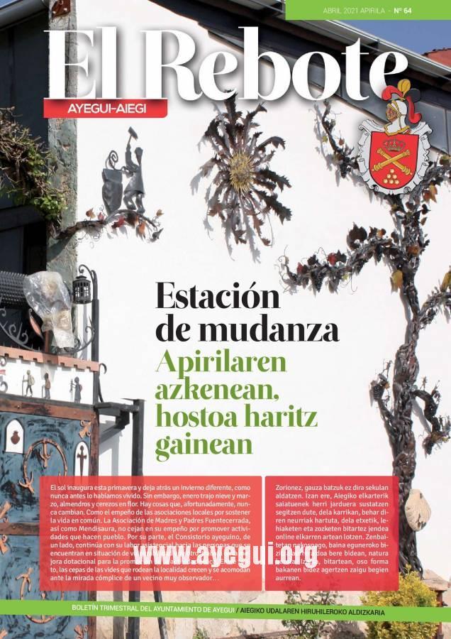 El Rebote - Revista Ayuntamiento Ayegui